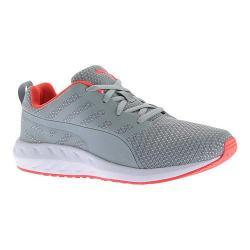 Women's PUMA Flare Mesh Sneaker Quarry/Red Blast/Puma White