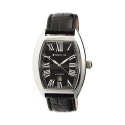 Men's Heritor Automatic Redmond HR2202 Black Leather/Black