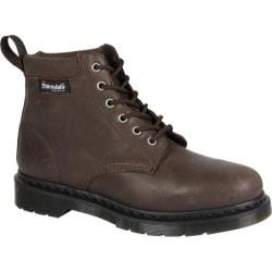 Dr. Martens Saxon 939 6-Eye Padded Collar Boot Dark Brown New Laredo/Extra Tough Nylon