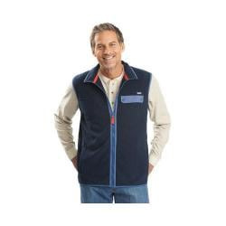 Men's Woolrich Trail Blazing Vest Deep Indigo