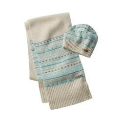 Columbia Winter Worn Hat And Scarf Set Chalk