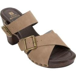 Women's White Mountain Siesta Sandal Sahara Smooth