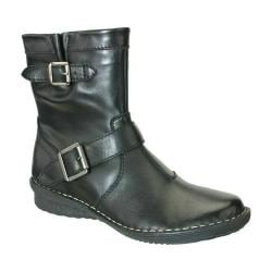 Women's Napa Flex Dea Ankle Boot Black Calfskin