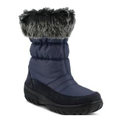 Women's Spring Step Rolim Boot Navy Nylon