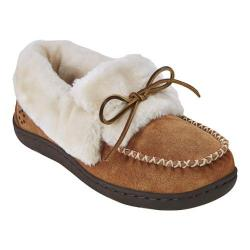 Women's Tempur-Pedic Laurin Moccasin Slipper Hashbrown Suede
