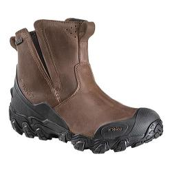 Men's Oboz Big Sky Insulated Slip-On Hiking Boot Saddle Brown