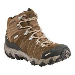 Women's Oboz Bridger Mid BDry Hiking Boot Walnut