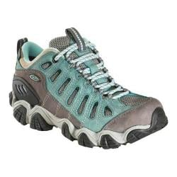 Women's Oboz Sawtooth Low BDry Hiking Shoe Mineral Blue