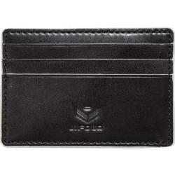 Men's J.Fold Roadster Flat Stash Leather Card Carrier Black