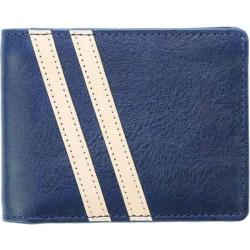 Men's J.Fold Roadster Torrent Leather Slimfold Wallet Royal Blue