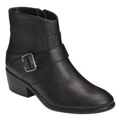 Women's A2 by Aerosoles My Way Biker Boot Black Faux Leather