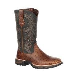 Women's Durango Boot DRD0149 11in Durango Lady Rebel Boot Brown/Black Full Grain Leather
