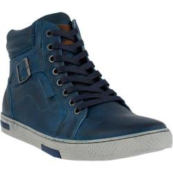 Men's Spring Step Humbert Lace Up Blue Leather