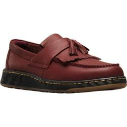Men's Dr. Martens Edison Kiltie Tassel Loafer Cherry Red