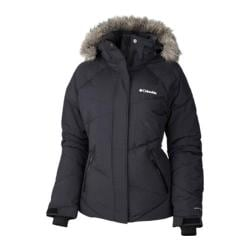 Women's Columbia Lay D Down Jacket Black Metallic