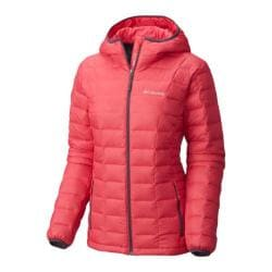 Women's Columbia Voodoo Falls 590 TurboDown Hooded Jacket Punch Pink/Dusty Purple