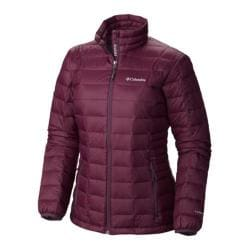 Women's Columbia Voodoo Falls 590 TurboDown Jacket Purple Dahlia/Dusty Purple