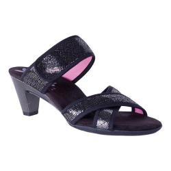 Women's Helle Comfort Ece Heeled Sandal Black Combo Leather
