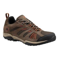 Men's Columbia North Plains Drifter Waterproof Hiking Shoe Cordovan/Sanguine