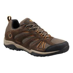 Men's Columbia North Plains Drifter Waterproof Hiking Shoe Mud/Canyon Gold