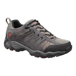 Men's Columbia North Plains II Waterproof Hiking Shoe City Grey/Rocket