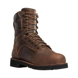 Men's Danner Workman GORE-TEX 8in Boot Brown Oiled Full Grain Leather