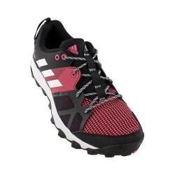 Women's adidas Kanadia 8 Trail Running Shoe Black/White/Bahia Pink