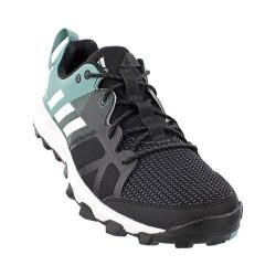 Women's adidas Kanadia 8 Trail Running Shoe Black/White/Vapour Steel