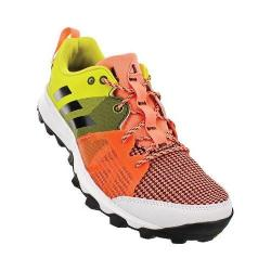 Women's adidas Kanadia 8 Trail Running Shoe Sun Glow/Black/Shock Slime