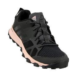 Women's adidas Kanadia 8 Trail Running Shoe Utility Black/Black/Vapour Pink