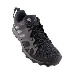 Men's adidas Kanadia 8 Trail Running Shoe Black/Iron Metallic/Utility Black