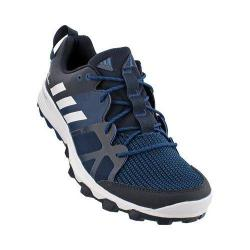 Men's adidas Kanadia 8 Trail Running Shoe Night Navy/White/Tech Steel