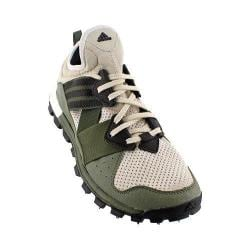 Men's adidas Response Trail Boost Running Shoe Clear Brown/Iron Metallic/Base Green