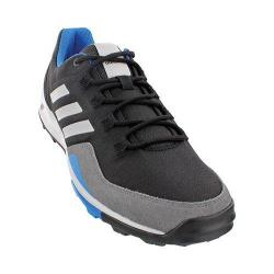 Men's adidas Tivid Mid Low Hiking Shoe Black/Clear Grey/Shock Blue