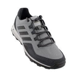 Men's adidas Tivid Mid Low Hiking Shoe Vista Grey/Black/Dark Grey