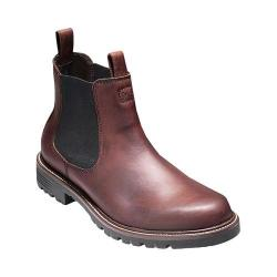 Men's Cole Haan Grantland Waterproof Chelsea Boot Burnt Chili Waterproof Leather