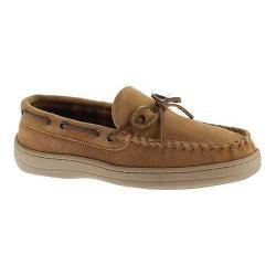 Men's Florsheim Trapper Moccasin Slipper Tan Leather