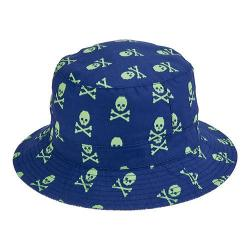 Children's San Diego Hat Company Reversible Bucket Hat CTK4153 Navy