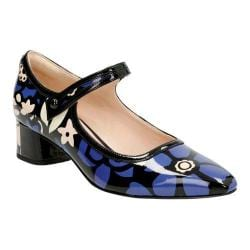 Women's Clarks Swixties Faye Mary Jane Floral Patent Leather
