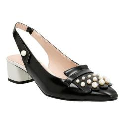 Women's Clarks Swixties Slingback Black Patent Leather