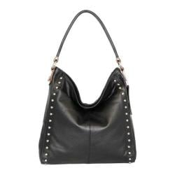 Women's Nino Bossi Begonia Bloom Hobo Bag Black
