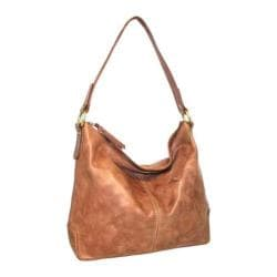 Women's Nino Bossi Cherry Bloom Hobo Bag Nut