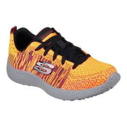 Boys' Skechers Burst In the Mix Sneaker Orange/Black