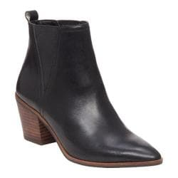 Women's Lucky Brand Lorry Chelsea Boot Black Leather