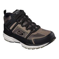 Men's Skechers Geo Trek High Top Trail Shoe Taupe/Black
