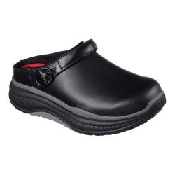 Women's Skechers Work Relaxed Fit Cheriton Aledo SR Clog Black/Gray