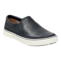 Men's Clarks Ballof Step Slip On Navy Leather