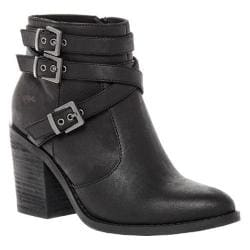 Women's Rocket Dog Deon Ankle Boot Black Graham PU