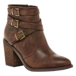 Women's Rocket Dog Deon Ankle Boot Brown Graham PU