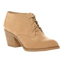 Women's Rocket Dog Sam Lace Up Bootie Sand Fabric